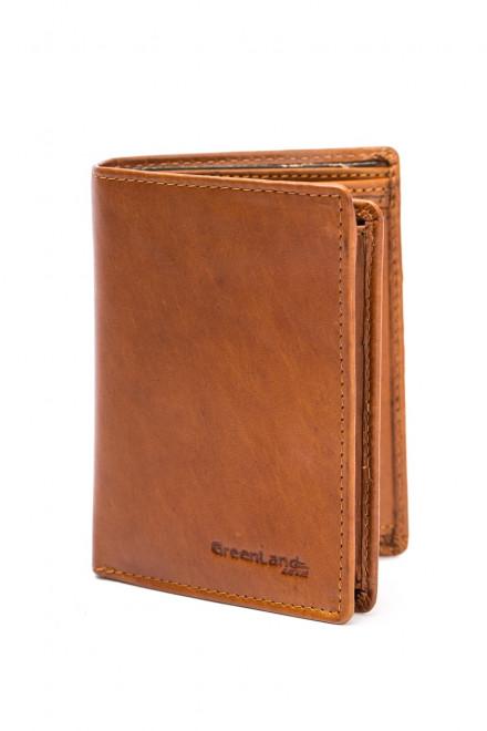 Кожаный кошелек мужской GreenLand