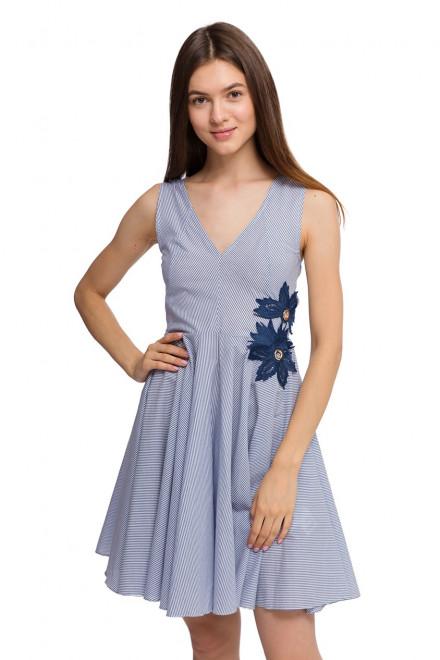 Платье женское без рукавов с открытой спиной и пышной юбкой Kocca