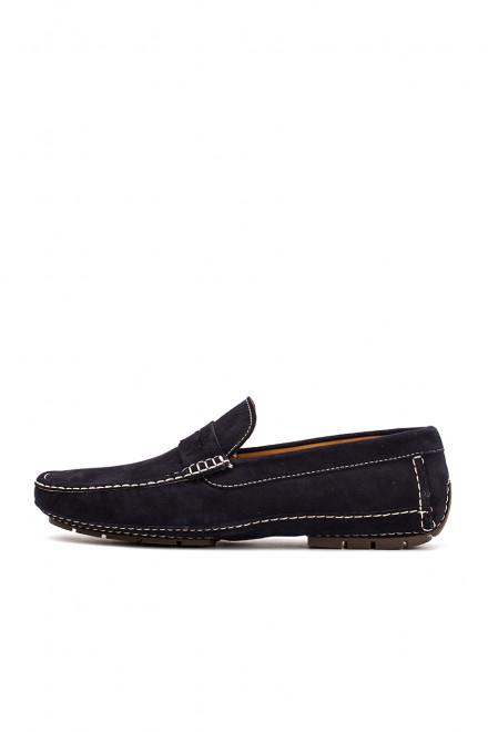 Туфли мужские (мокасины) замшевые  DN8 by Moreschi