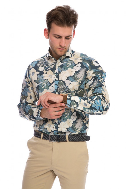 Рубашка мужская из хлопка LESO-TF van Laack