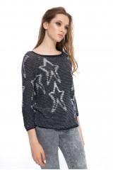 Пуловер женский синий Rich&Royal 4