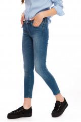 Голубые женские джинсы Rich&Royal 1