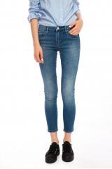 Голубые женские джинсы Rich&Royal