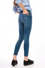 Голубые женские джинсы Rich&Royal 4