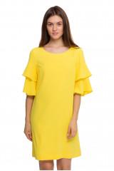 Платье женское желтое Weill