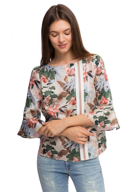 Блуза женская с цветочным рисунком Kocca
