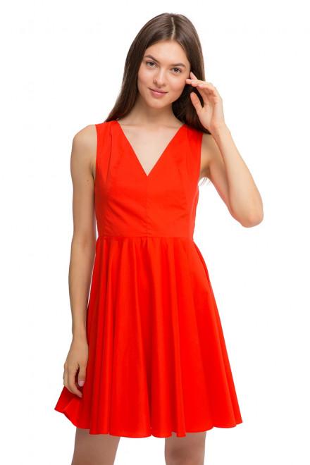 Платье ярко-красное с завязками на спине Kocca