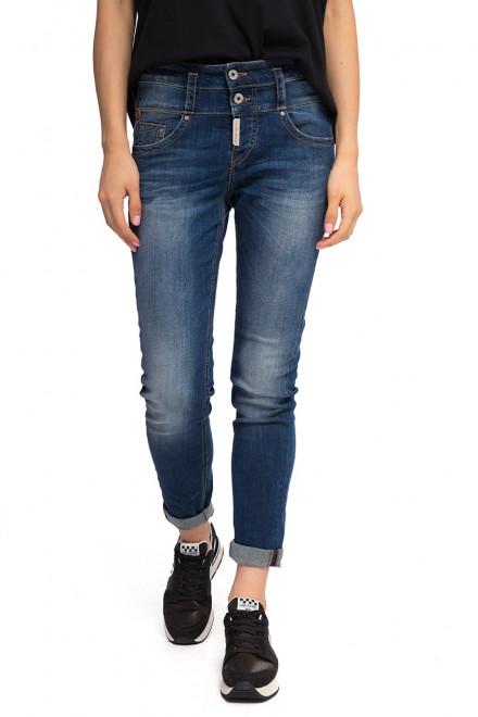 Джинсы женские с высокой посадкой Staff Jeans